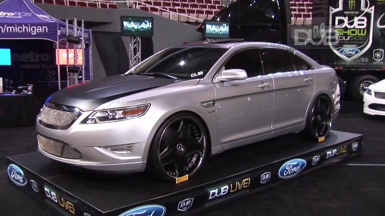 Dub Edition Ford Taurus Sho Takes Over Detroit Auto Show