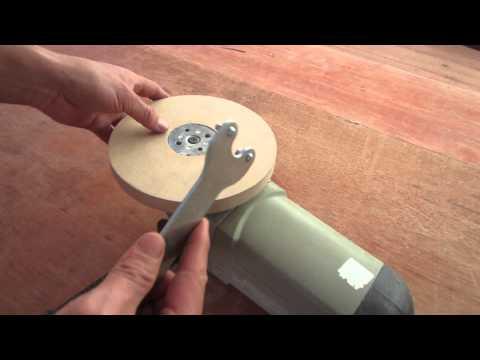 Convertir amoladora en lijadora para pulir madera youtube - Lijadora para madera ...