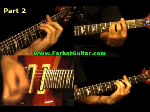 Can´t Stand Losing You - The Police Guitar Cover 5/5 Full Song www.FarhatGuitar.com