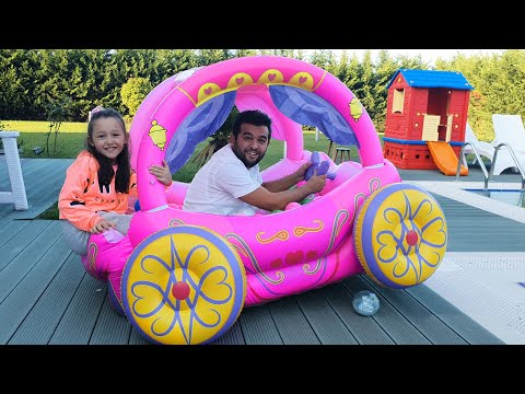 Öykü and Dad argue over toy surprises - funny kids