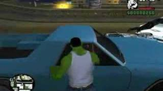 The Hulk In GTA San Andreas