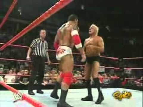 Batista vs Ric Flair