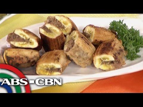 Chef Tatung's rellenong saba