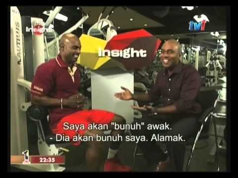INSIGHT TV1 - Bodybuilder Mike Mahen (3rd March 2014)