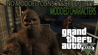 GTA 5 How To Mod Your Single Player Character Without