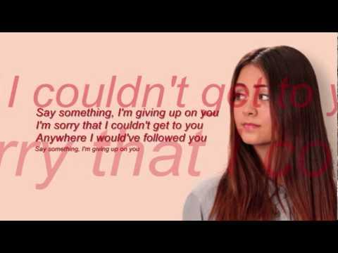Jessica Thompson - Say Something Lyrics