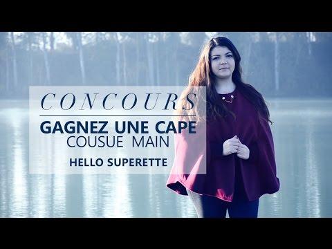CONCOURS - GAGNEZ UNE CAPE cousue main par HELLO SUPERETTE ✨