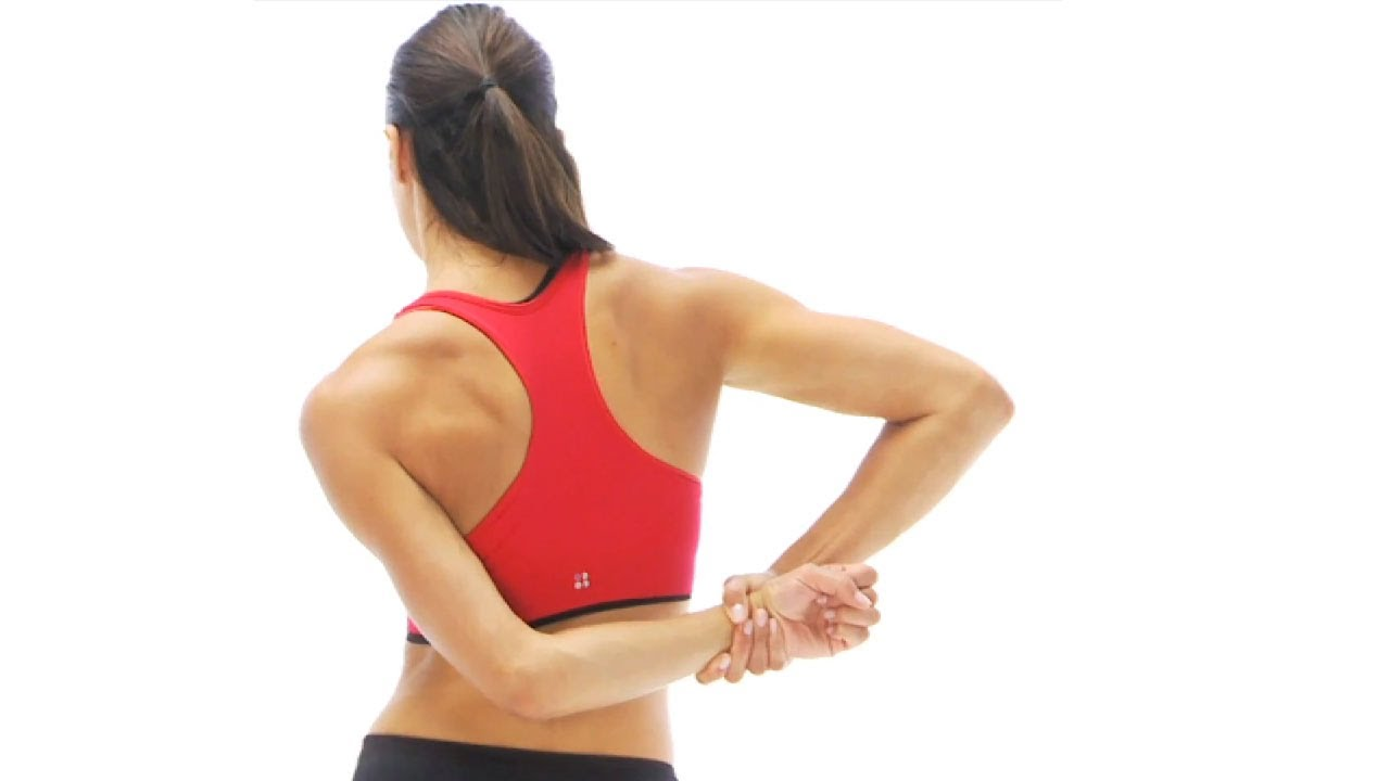 Supraspinatus stretch behind the back youtube