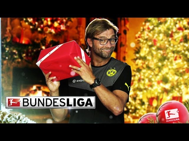 Bundesliga Season's Greetings - Happy Holidays to Our YouTube Fans