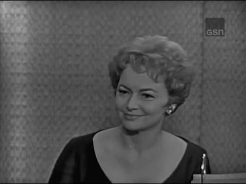 What's My Line? - Olivia de Havilland; Robert Morse [panel] (Mar 4, 1962)
