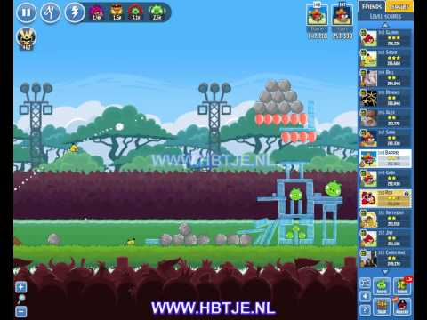 Angry Birds Friends Tournament Level 2 Week 132 (tournament 2) no power-ups