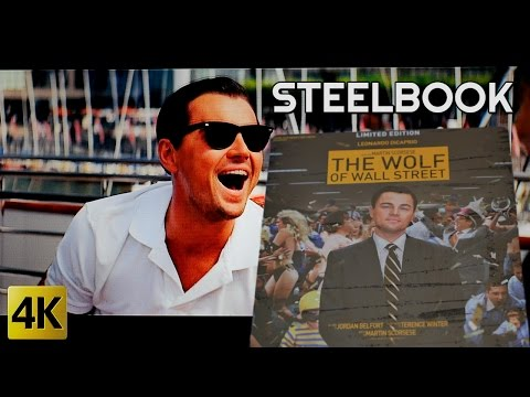 The Wolf of Wall Street STEELBOOK ☆ 2 Blu-ray
