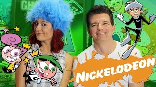 BLINDFOLDED CARTOON CHALLENGE ft Cartoon Legend Butch Hartman