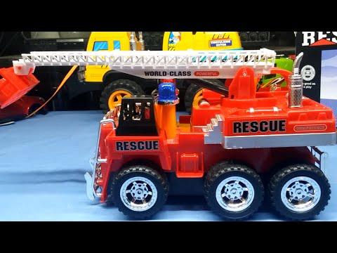 Đồ chơi xe cứu hỏa, chữa cháy trẻ em - Fire Engine - Kid Toy