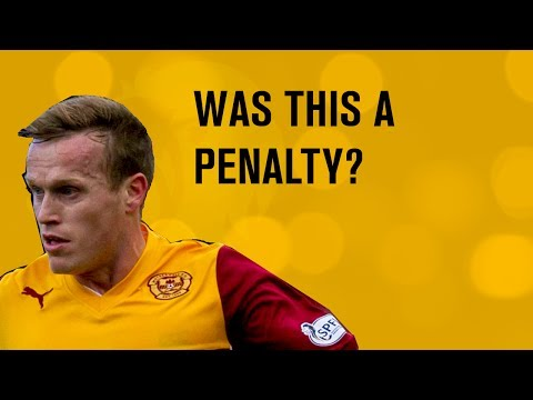 Should Hammell's handball have led to a penalty?