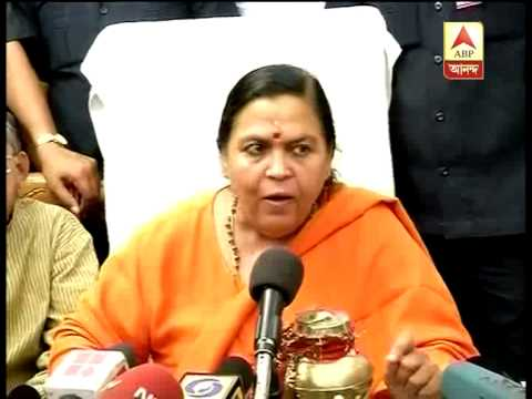 Uma Bharti attacks Sonia Gandhi and asked about her educational qualification