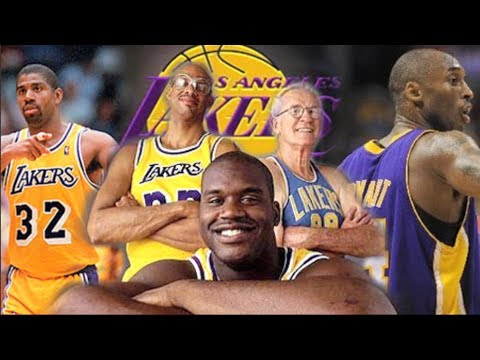 Top 5 Lakers of all-time!