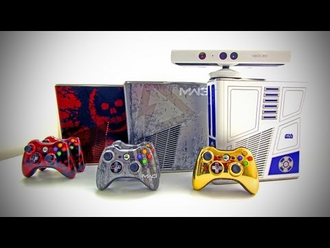 XBOX 360 Limited Edition Console Comparison