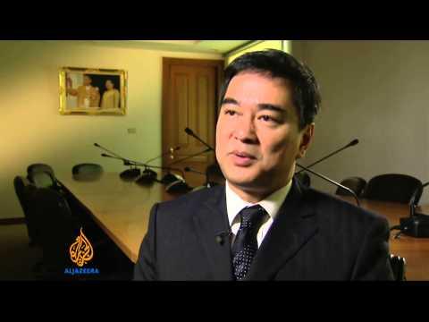 Thai protesters begin final push against poll