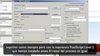 Tutorial Para Pasar De Autocad (.dwg) A .PDF