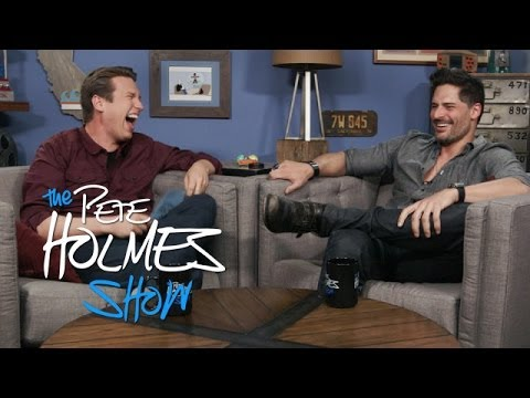 "Joe Manganiello Talks ""Magic Mike,"" Absinthe and Fluffing"