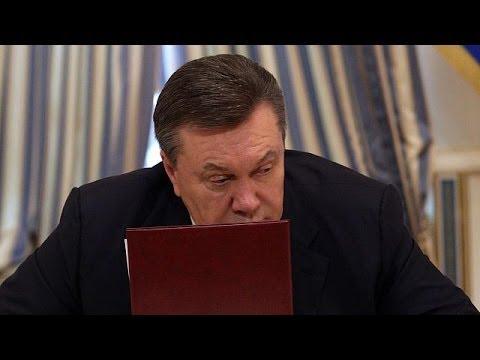 Ukraine's parliament dismisses President Yanukovych