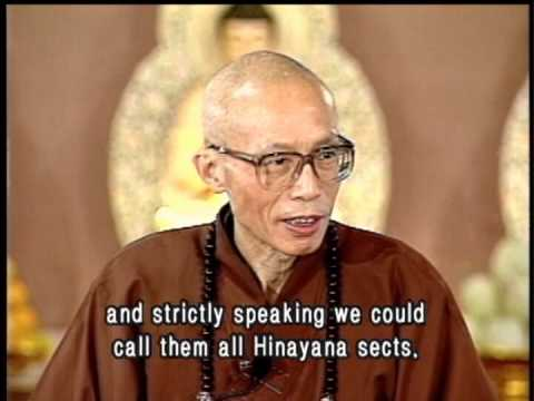 The difference between Mahayana and Hinayana Buddhism