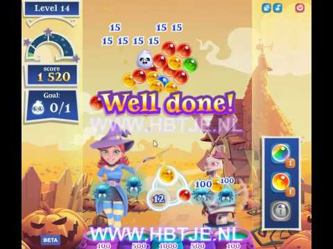 Bubble Witch Saga 2 level 14