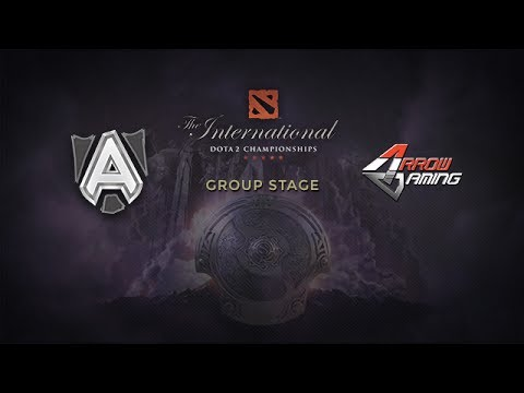 Alliance -vs- Arrow, The International 4, Group Stage, Day 1