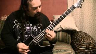 "Omnihility -""Disseminate"" Guitar play through"