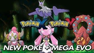 Pokemon X & Y Diancie, Volcanion, Hoopa + Mega Latios
