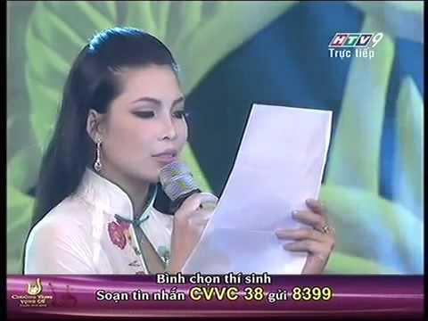 Chuông vàng vọng cổ 2013 Phần thi của Nguyễn Thị Luận Chung kết xếp hạng