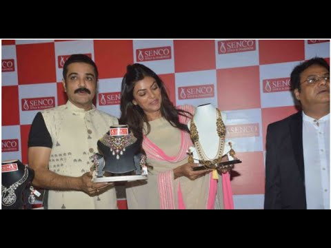 Sushmita Sen and Prosenjit Chatterjee launched the new Sencon jewellery store