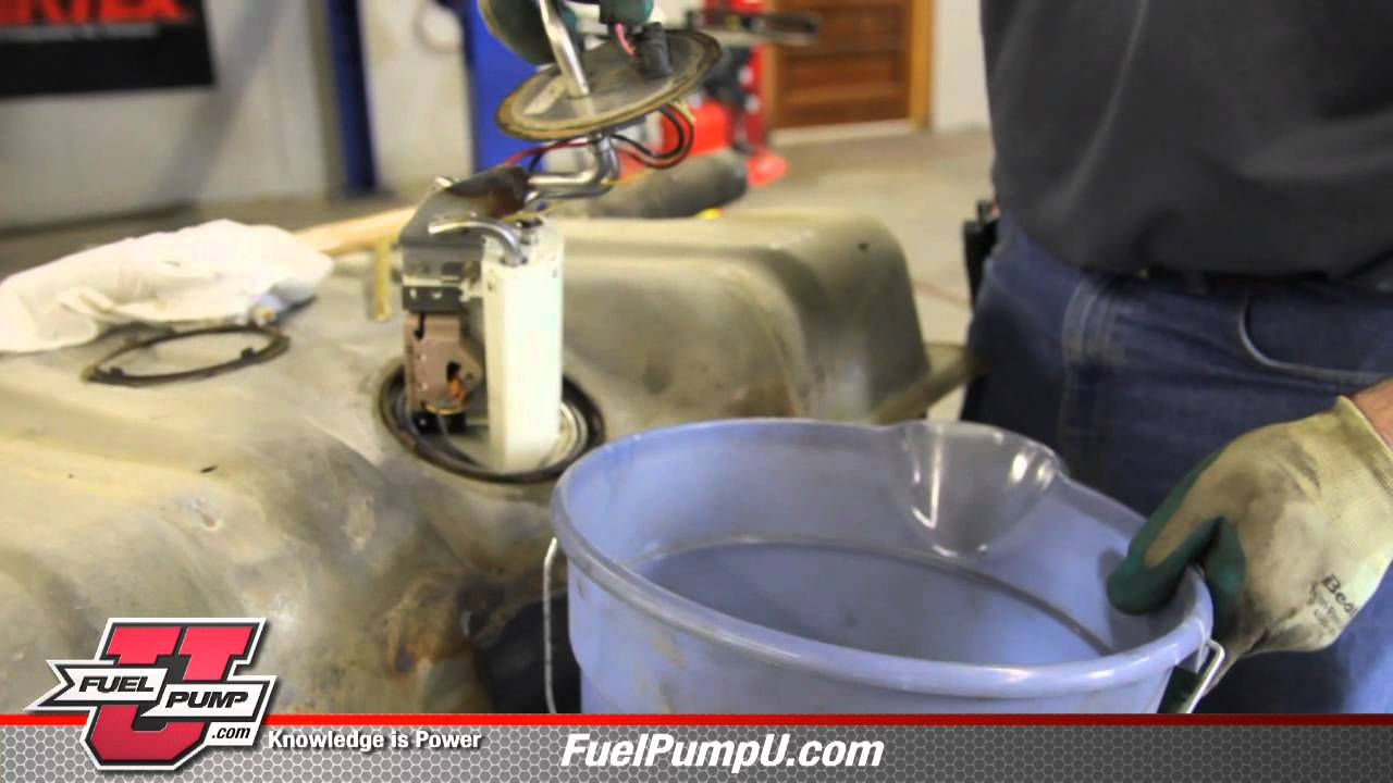 How to install Fuel Pump E2064MN in 1990-1997 Ford F150 ...