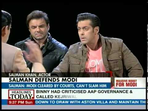 Modi needn't say sorry for 2002 riots: Salman