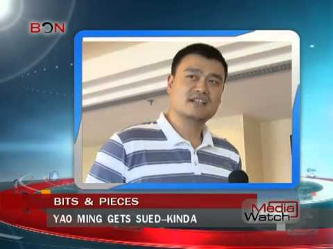 Yao ming gets sued--kinda- May.16th.,2014 - BONTV China