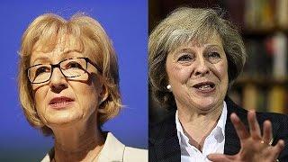 امرأتان تتنافسان لخلافة كاميرون في رئاسة الوزراء |