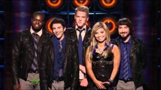 "9th Performance Pentatonix ""OMG"" By Usher Sing Off"