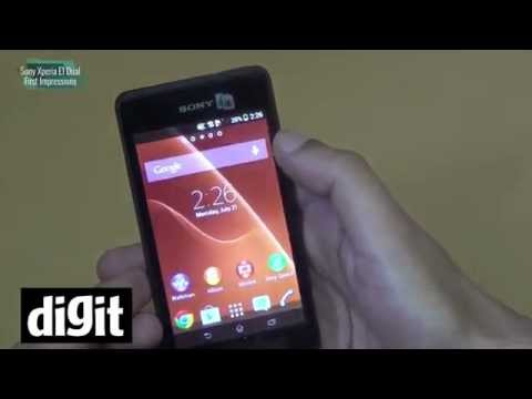Sony Xperia E1 Dual - First Impressions