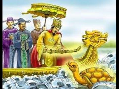 Sự tích hồ Gươm - Rùa thần đòi gươm, truyền thuyết hồ Gươm