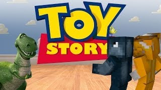 Minecraft Xbox Toy Story Adventure Map Andy's Room [1