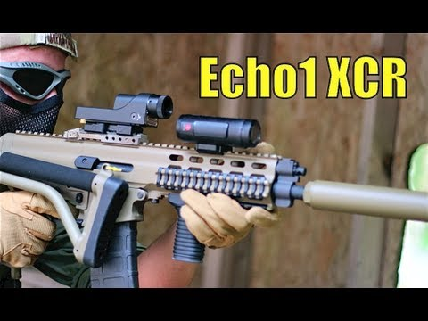 Airsoft War WE Scar, Echo1 XCR 