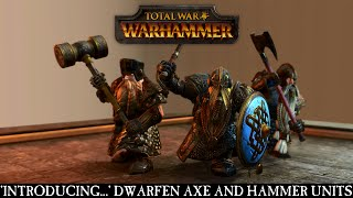 Dwarfen Axe & Hammer Units preview image