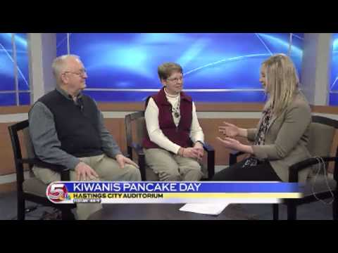 News 5 at 11:30 - Hastings Kiwanis Club Interview / March 18, 2014