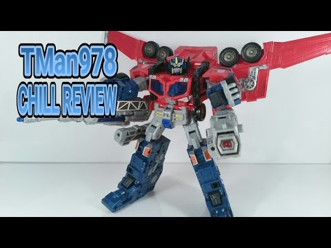 Transformers Cybertron Optimus Prime CHILL REVIEW
