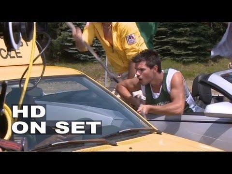 Grown Ups 2: Behind the Scenes (Broll) Adam Sandler, Taylor Lautner, Chris Rock