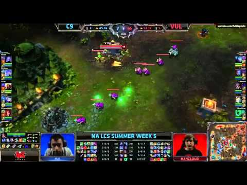 Team Cloud 9 vs Team Vulcun (LCS 2013 NA Summer Split W5 D1)