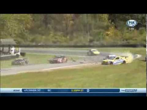 Big Crash @ 2013 Grand-AM Lime Rock