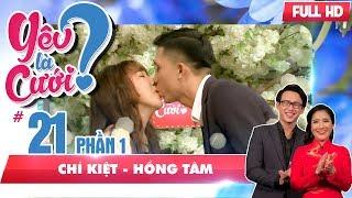 Chuyện tình thú vị của cặp đôi 'chồng sếp - vợ nhân viên' | Chí Kiệt - Hồng Tâm | YLC #21 😂