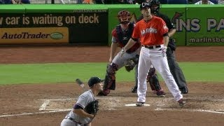 Jose Fernandez hits first home run, benches clear